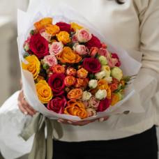 Букет из кустовых роз #36
